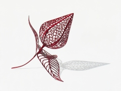 Physalis (2009), Kiln-dried laminated compressed cherry